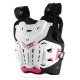 LEATT 4.5 Jacky Chest Protector Weiss/Pink